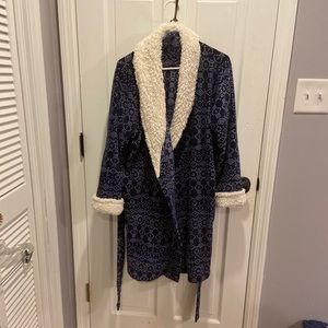Mid length robe